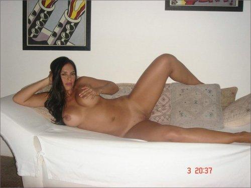 Красивая бразильянка (фото из гостиницы)