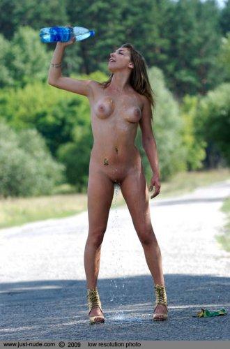 Сексуальная украинка голышом