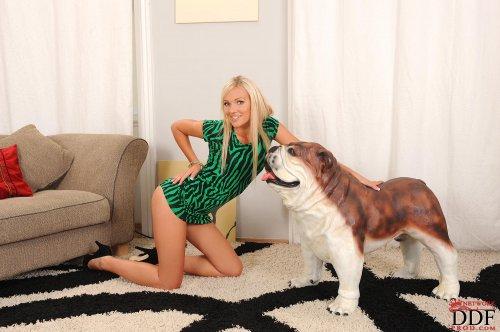 Nasty с собакой