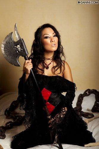 Asa Akira black widow