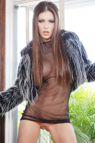 Jessica Jaymes в прозрачном платье