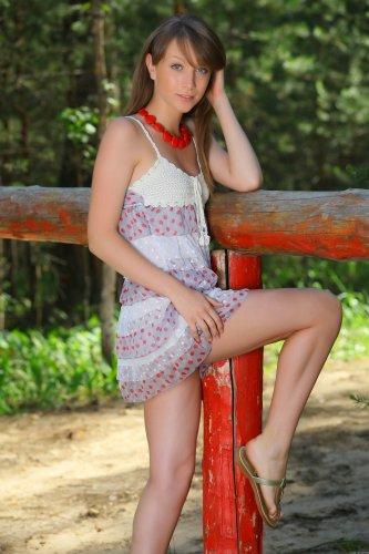 Denisa B. в лесочке