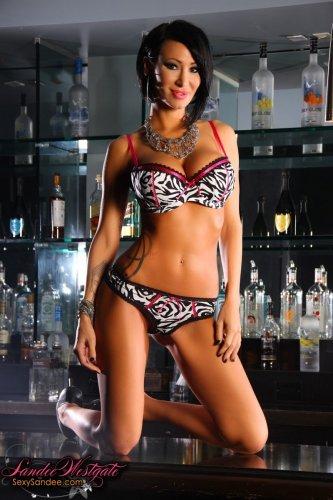 Стриптиз от бармена Sandee Westgate
