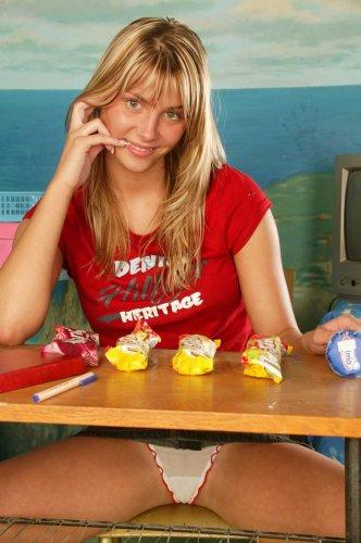 Denisa делает домашнее задание