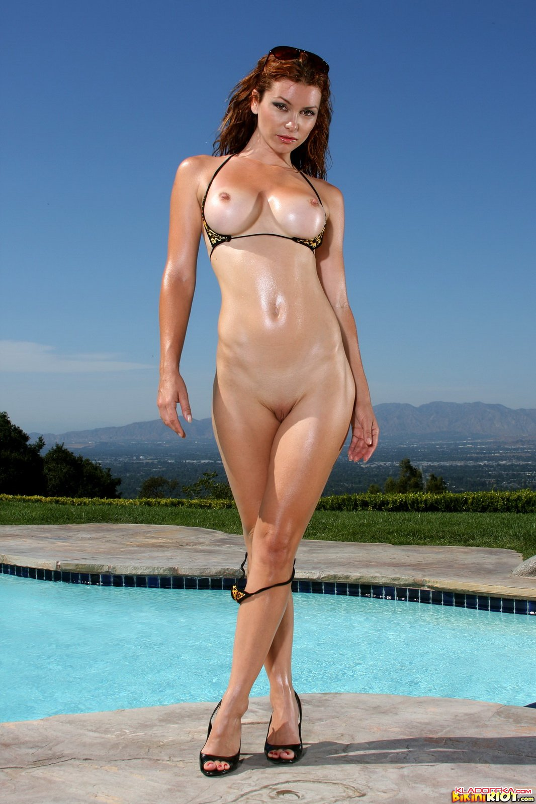 Something is. heather vandeven bikini riot right! seems