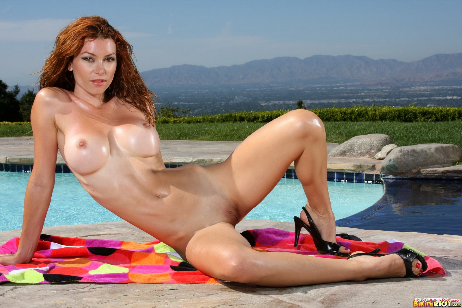 Are heather vandeven bikini riot you for