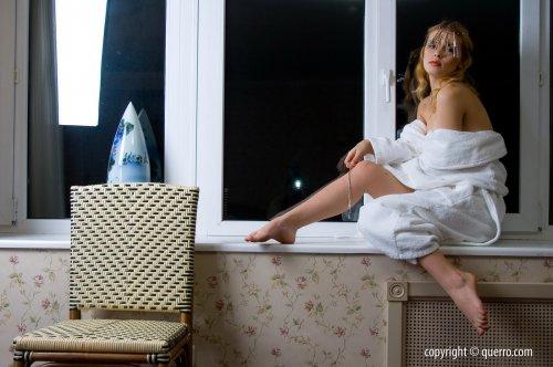 У ночного окна