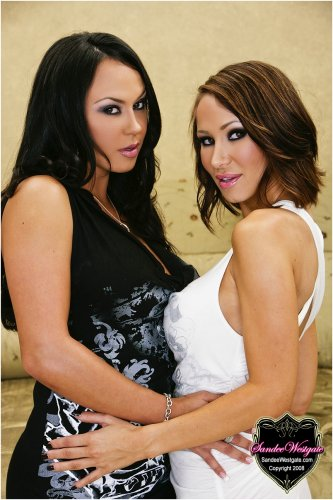 Sandee Westgate and Mariah Milano