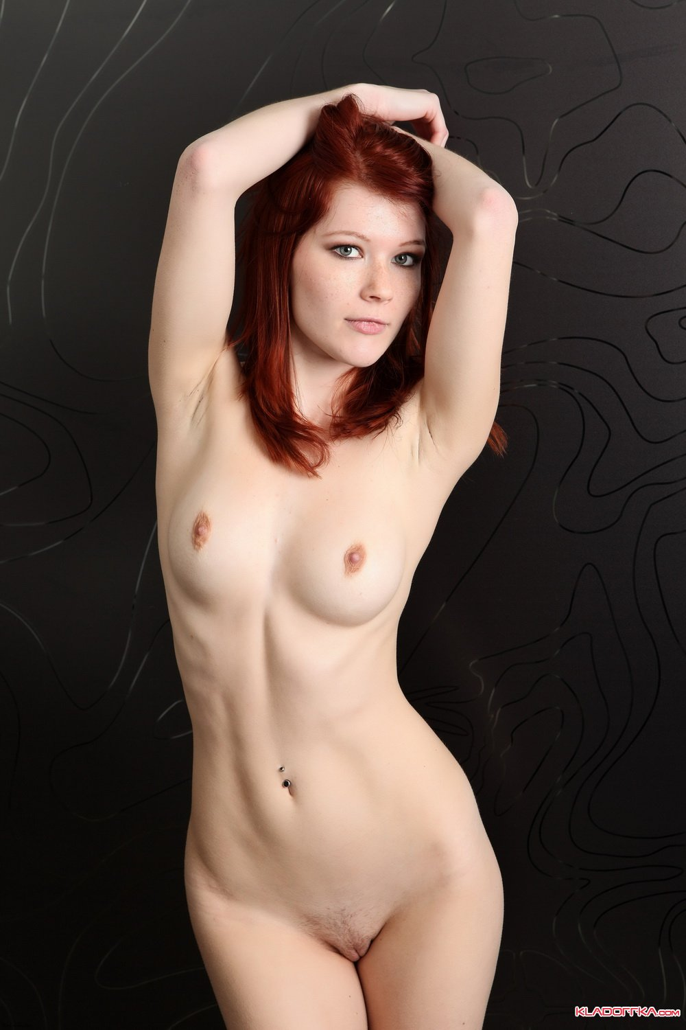 3d redhead nude cartoon photo