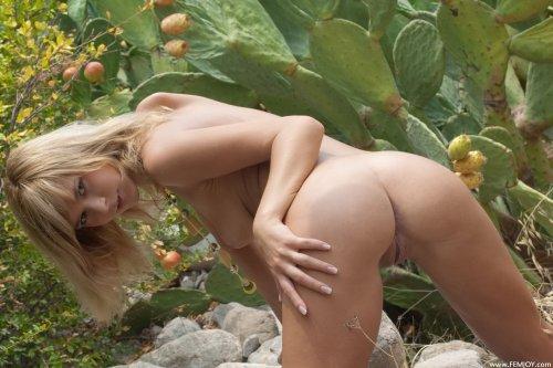 Ramona и кактусы