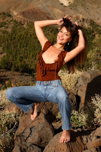 Lorena в горах
