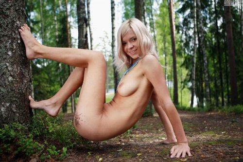 Сексуальная лесная нимфа Paloma