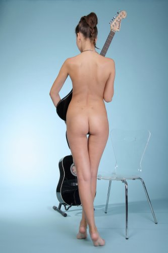 Обнажённая рок звезда Ирина