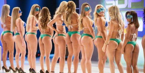 Конкурс лучшей попки в Бразилии