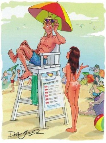 Веселые картинки от Playboy