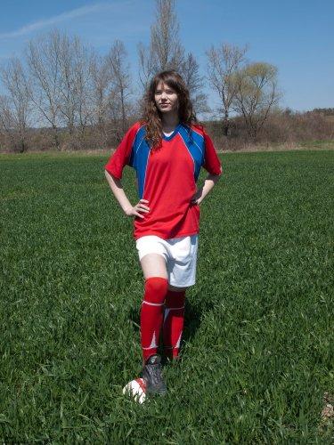 Футболистка Алла