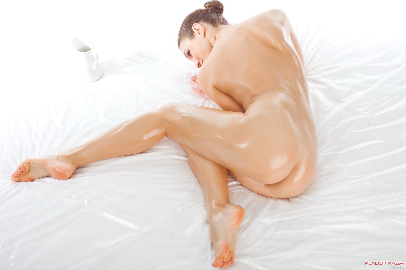 Эротика девушки масло 4 фотография
