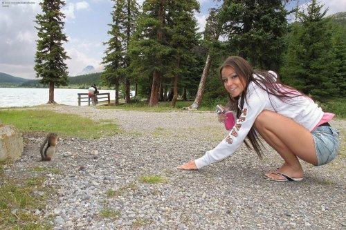 Lexa (Melisa) в горах